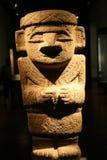 Precolumbian statue Royalty Free Stock Image