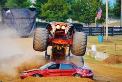 Predador do monster truck Foto de Stock Royalty Free