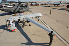 Predator Drone on display Royalty Free Stock Photography