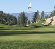 Predator Ridge. The Ridge Golf course at Predator Ridge near Vernon, BC, Canada Stock Photography