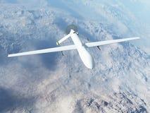 Predatore MQ-1 durante il volo Fotografia Stock Libera da Diritti