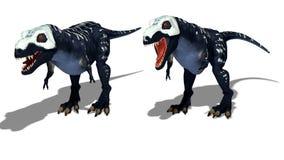 Predatory dinosaur Royalty Free Stock Images