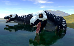 Predatory dinosaur Royalty Free Stock Photography