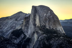 Predawn on Half Dome stock photography