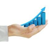 Predição do negócio Fotos de Stock