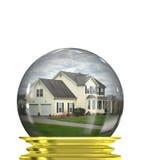 Predições do mercado imobiliário Foto de Stock