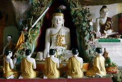 Predicador de Buda fotografía de archivo libre de regalías