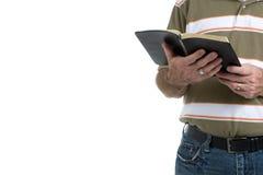 Predicador de la calle Imágenes de archivo libres de regalías