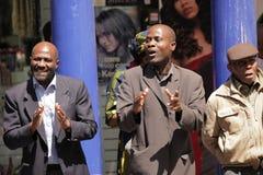 Predicadores de la calle fotos de archivo