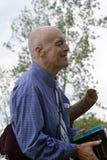 Predicadores en la esquina 4 de Hyde Park foto de archivo