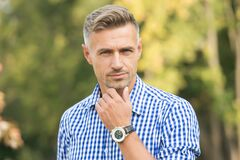 Free Predict Developments. Lost In Thoughts. Cognitive Process. Intellectual Work. Man Stylish Hairstyle. Male Face Stock Photos - 180050703
