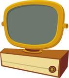 Predicta - los a?os 50 TV stock de ilustración