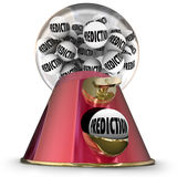 Prediction Gumball Machine Prophesy Fate Destiny Fortune Teller Stock Photography
