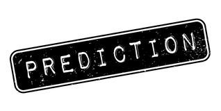 Prediction rubber stamp Royalty Free Stock Images