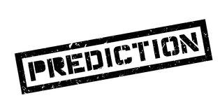 Prediction rubber stamp Stock Photography