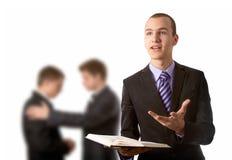 Predigen des Evangeliums Stockfotos