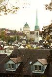 Predigerkirche in Zürich, Zwitserland Royalty-vrije Stock Fotografie
