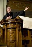 predikan Royaltyfri Bild