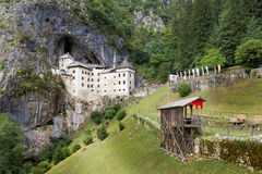 Predjama城堡,斯洛文尼亚 库存照片