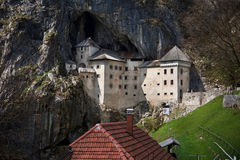 Predjama castle Royalty Free Stock Image