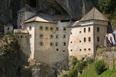 Predjama Castle Royalty Free Stock Photos