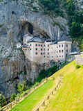Predjama Castle Royalty Free Stock Photo