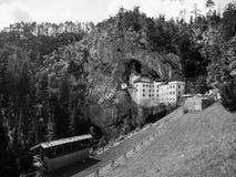 Predjama Castle built in the cave, Slovenia Stock Image
