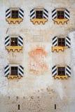 Predjama Castle facade Stock Photos