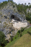 Predjama Castle in Postojna Cave Royalty Free Stock Photos
