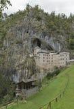 Predjama Castle in Postojna Cave, Slovenia Royalty Free Stock Images