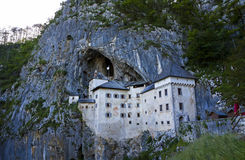Predjama Castle in Postojna Cave, Slovenia Royalty Free Stock Photography