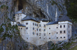 Predjama Castle in Postojna Cave, Slovenia Stock Photo