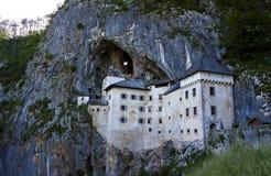 Predjama Castle in Postojna Cave, Slovenia Royalty Free Stock Photo