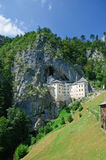 Predjama Castle in Postojna, Slovenia Royalty Free Stock Images