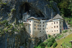 Predjama Castle in Postojna, Slovenia Stock Photos