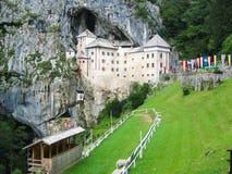 Predjama castle Stock Image