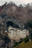 Predjama Castle in Slovenia Stock Image