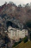 Predjama Castle in Slovenia Stock Image