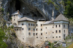 Predjama Castle, Slovenia Royalty Free Stock Images