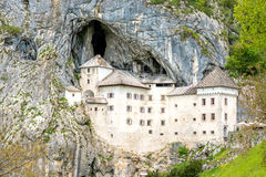 Predjama castle in Slovenia stock images