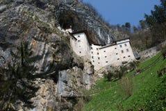 Predjama Grad, Slovenië stock foto's
