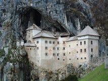 Predjama Schloss stockbild