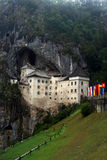 Predjama Schloss - Slowenien lizenzfreie stockfotos