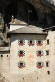 Predjama Schloss, Slowenien Stockbilder