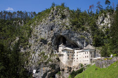 Predjamski castle, Slovenia. Predjamski castle in Slovenia, historic site Royalty Free Stock Photos