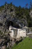 Predjamski castle, Slovenia. A historic site of Predjamski castle, Slovenia Royalty Free Stock Image