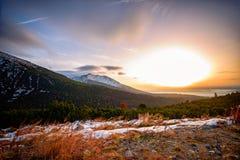 Predne Solisko chez haut Tatras Photos libres de droits