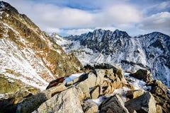 Predne Solisko en alto Tatras Imagen de archivo libre de regalías