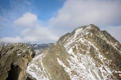 Predne Solisko en alto Tatras Fotografía de archivo