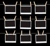 Preencha os espaços em branco II Fotografia de Stock